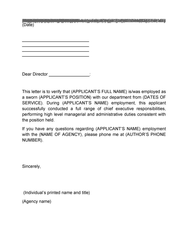 Free 11 Sample Proof Of Employment Letters In Pdf: Letter Confirming Employment