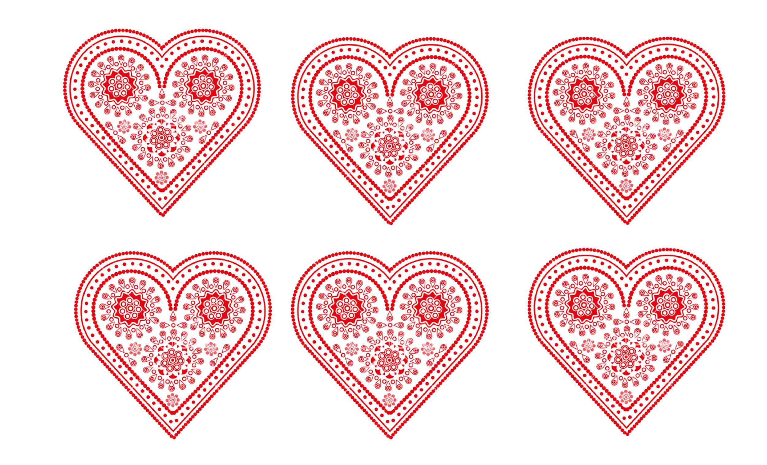 40 Printable Heart Templates Amp 15 Usage Examples