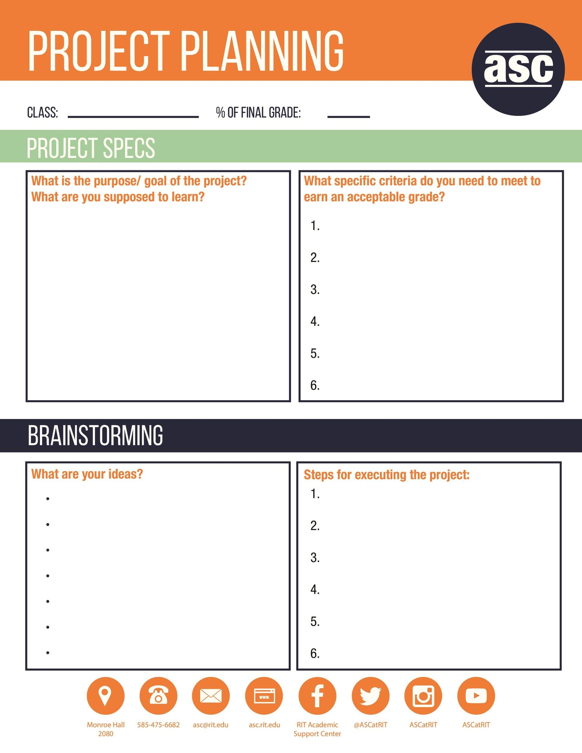 48 Professional Project Plan Templates Excel Word