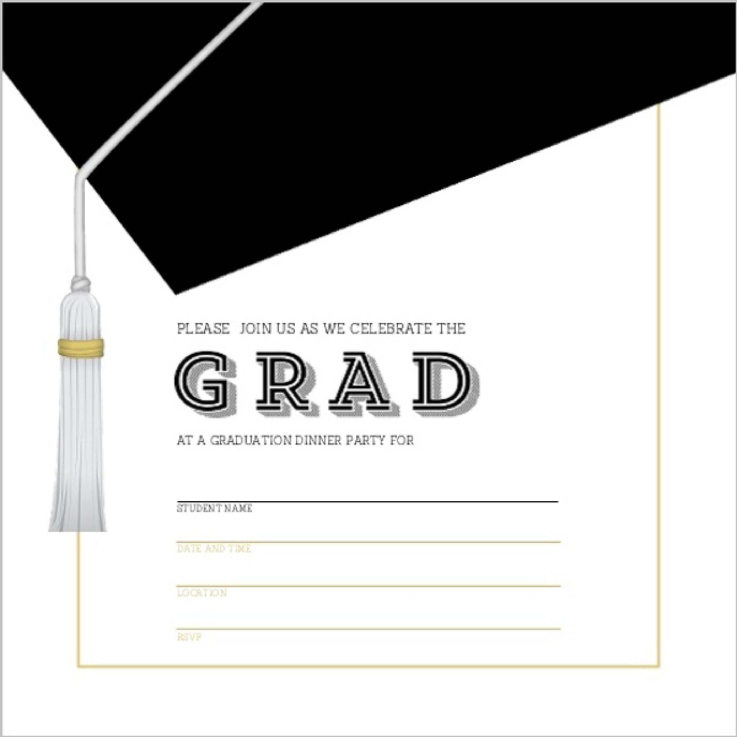 How Make Graduation Invitations