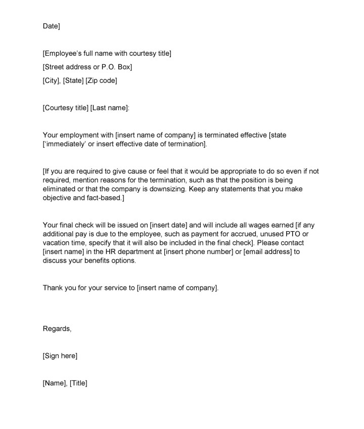 sample letter of termination employment contract by employee docoments ojazlink