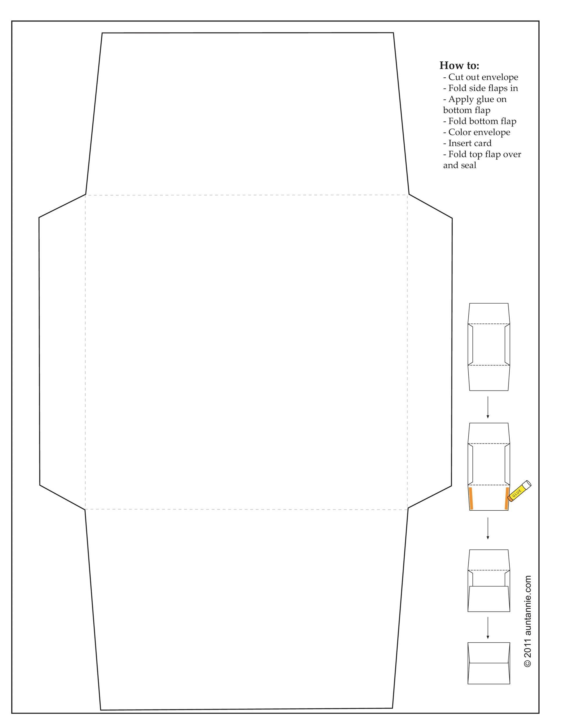40 FREE Envelope Templates Word PDF Template Lab