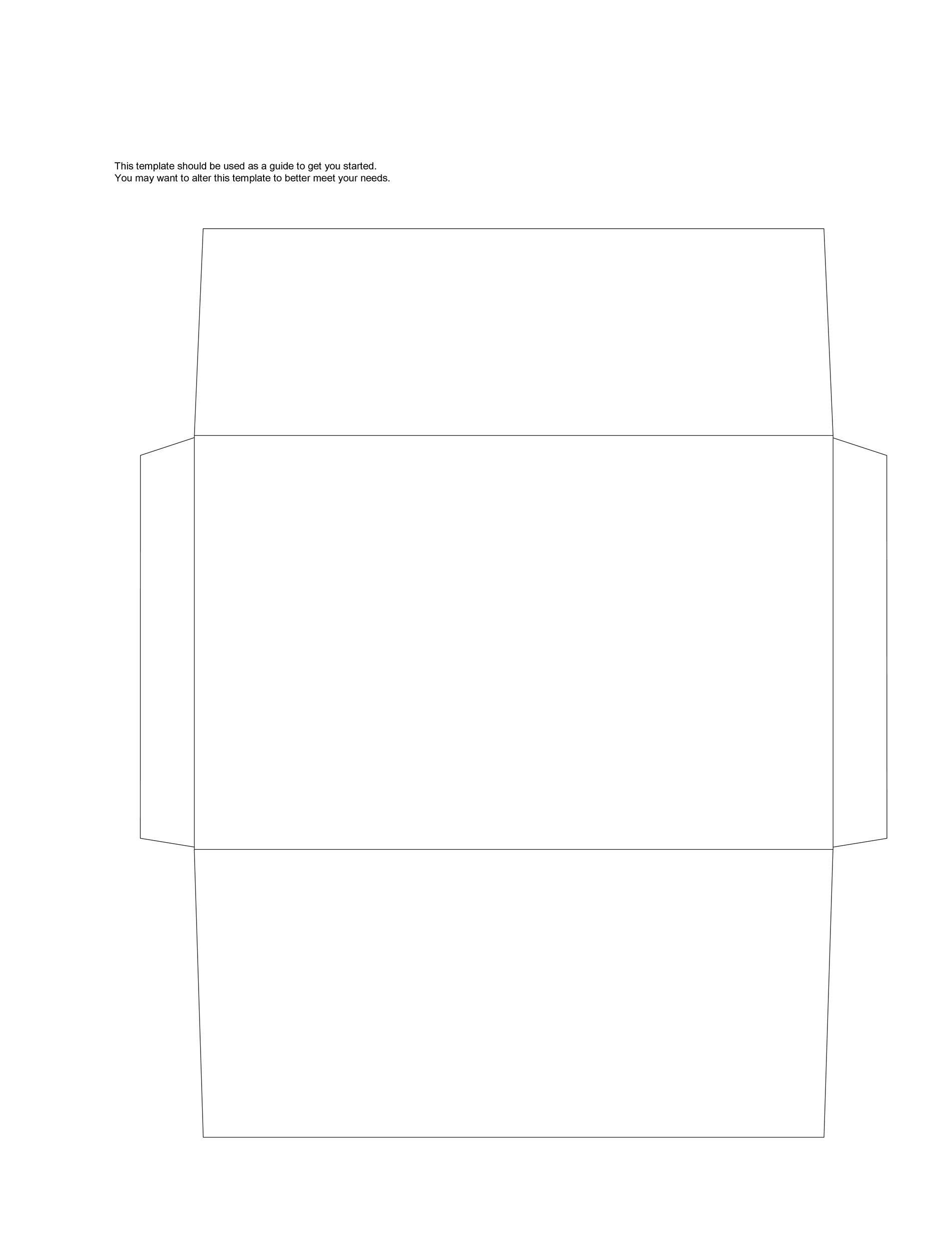 40 FREE Envelope Templates Word PDF Template Lab