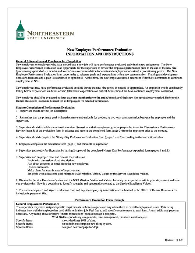 16 Employee Evaluation Forms & Performance Review Examples