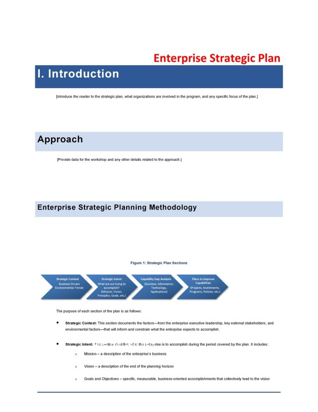 29 Great Strategic Plan Templates to Grow your Business