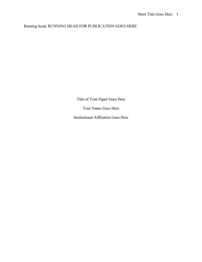 Apa Style Template Microsoft Word 2007 Save Template