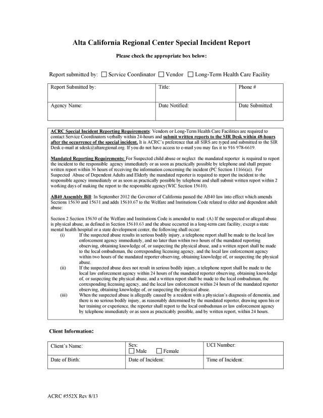 24+ Incident Report Template [Employee, Police, Generic] ᐅ