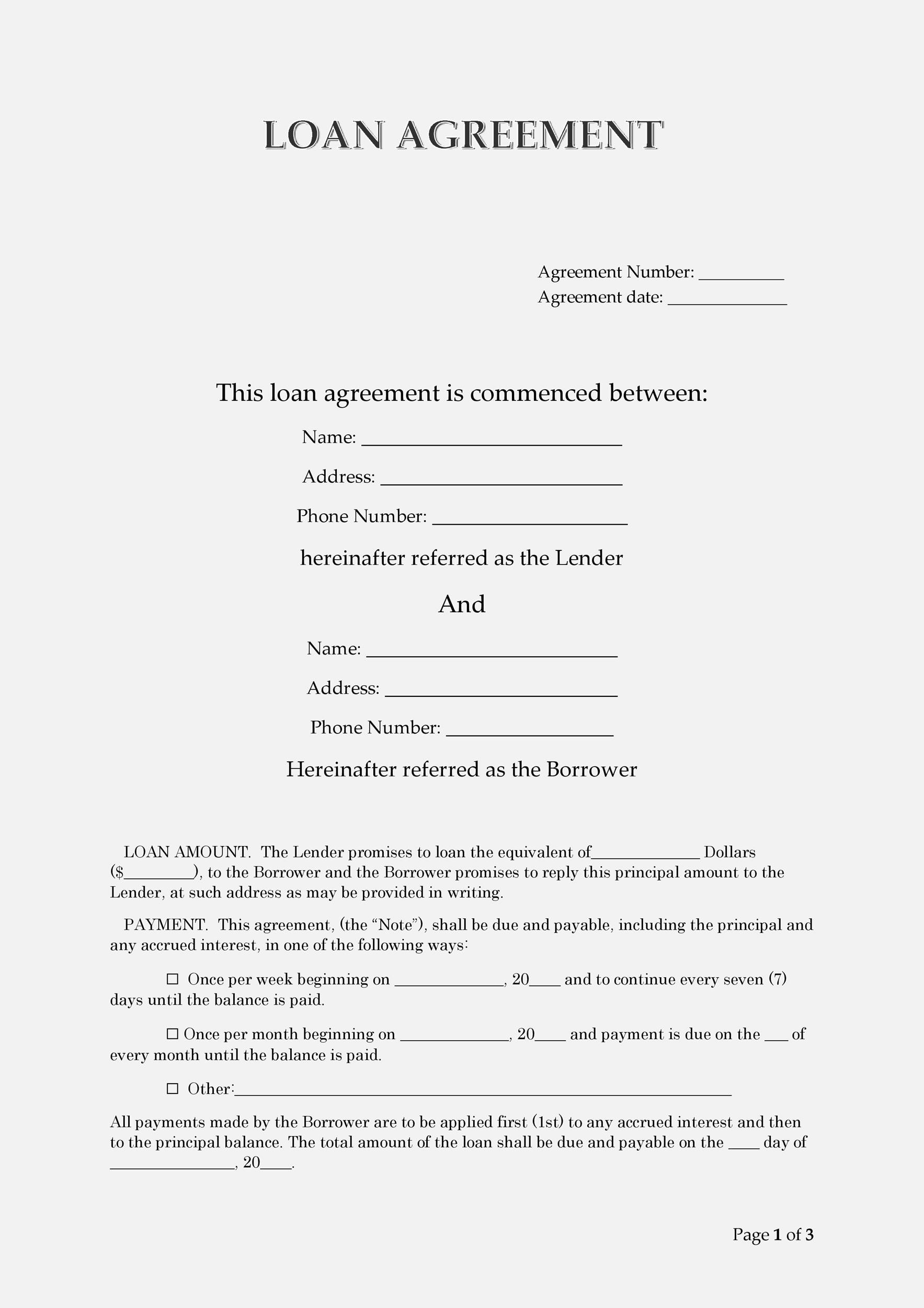 Create a high quality document online now! Loan Agreement Form Sample Loan Agreement Sample In Nepali Pdf Template This Form Is Very Important Because It Releases The Borrower And Gives Them A Good Credit Record