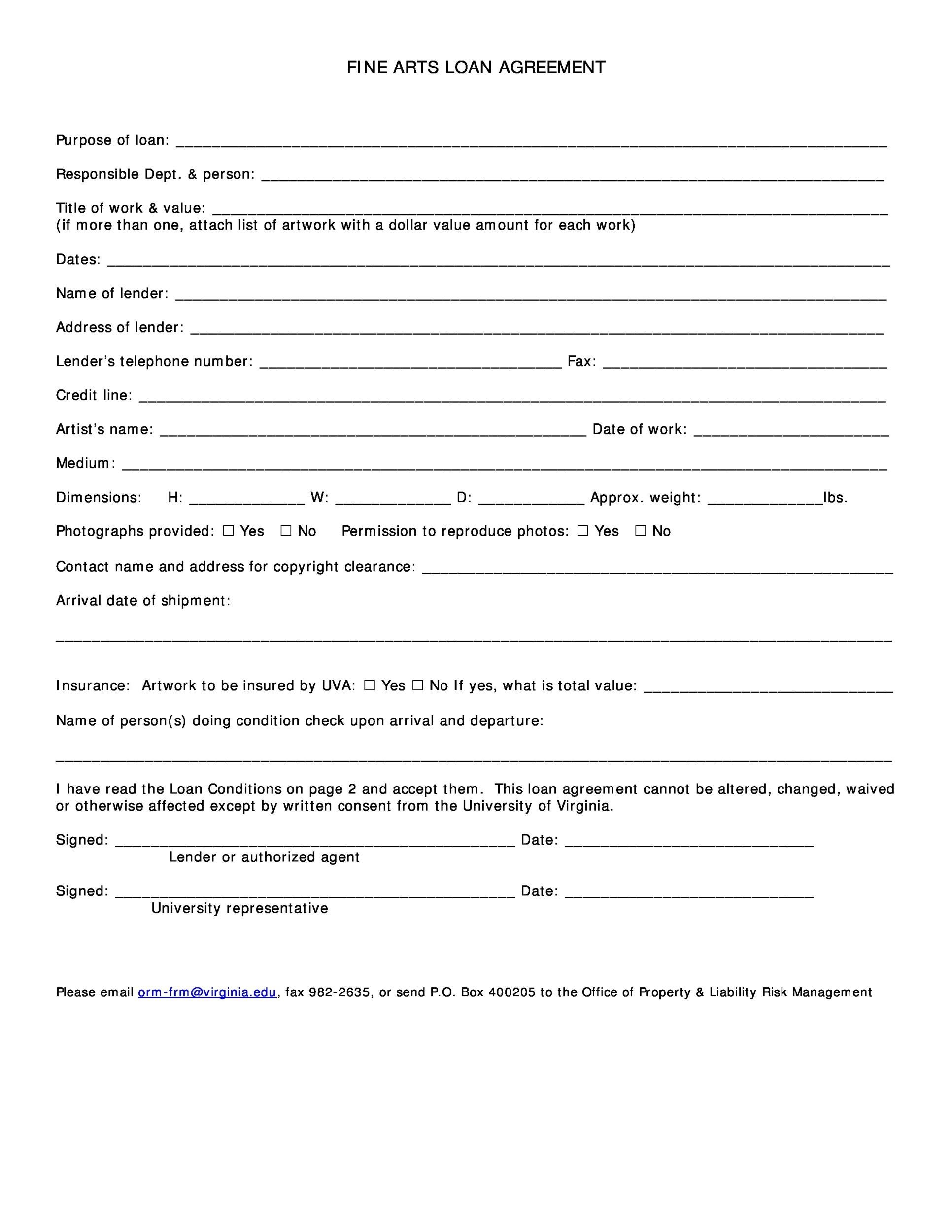 In the past i have used. 40 Free Loan Agreement Templates Word Pdf Á… Templatelab