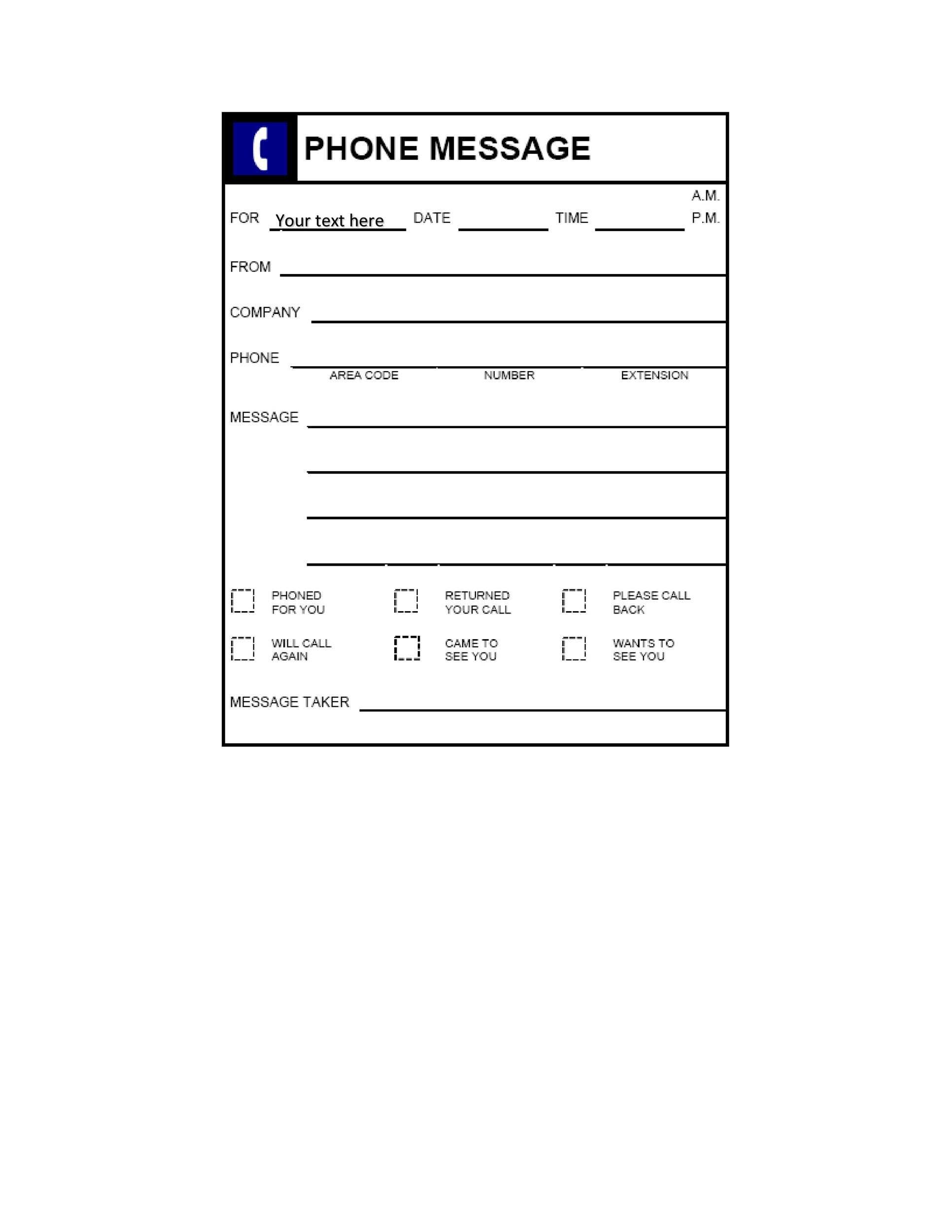 40 Voicemail Greetings Amp Phone Message Templates Business