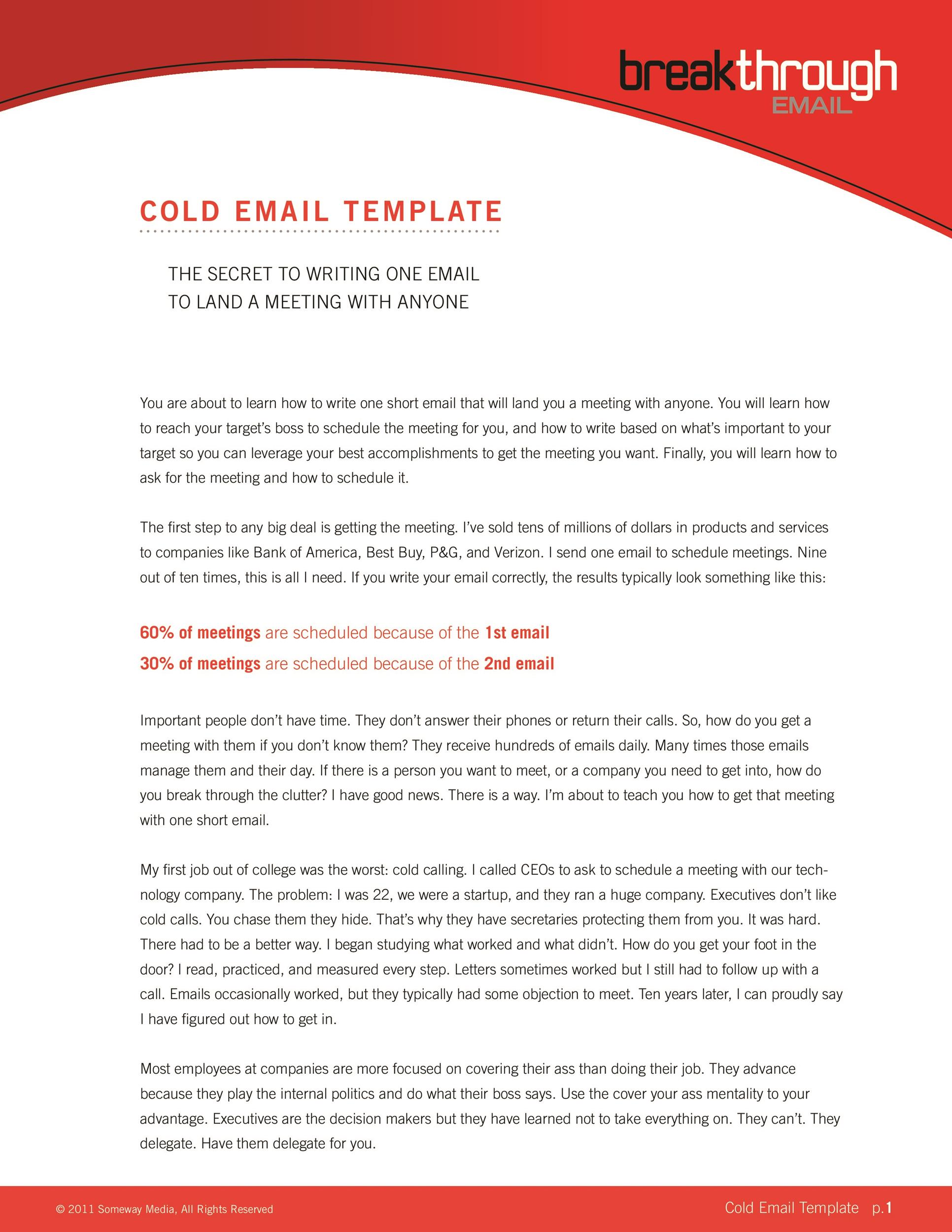 A formal and professional business email template, this sample is plain and transparent with formal structure of email. 30 Professional Email Examples Format Templates Á… Templatelab