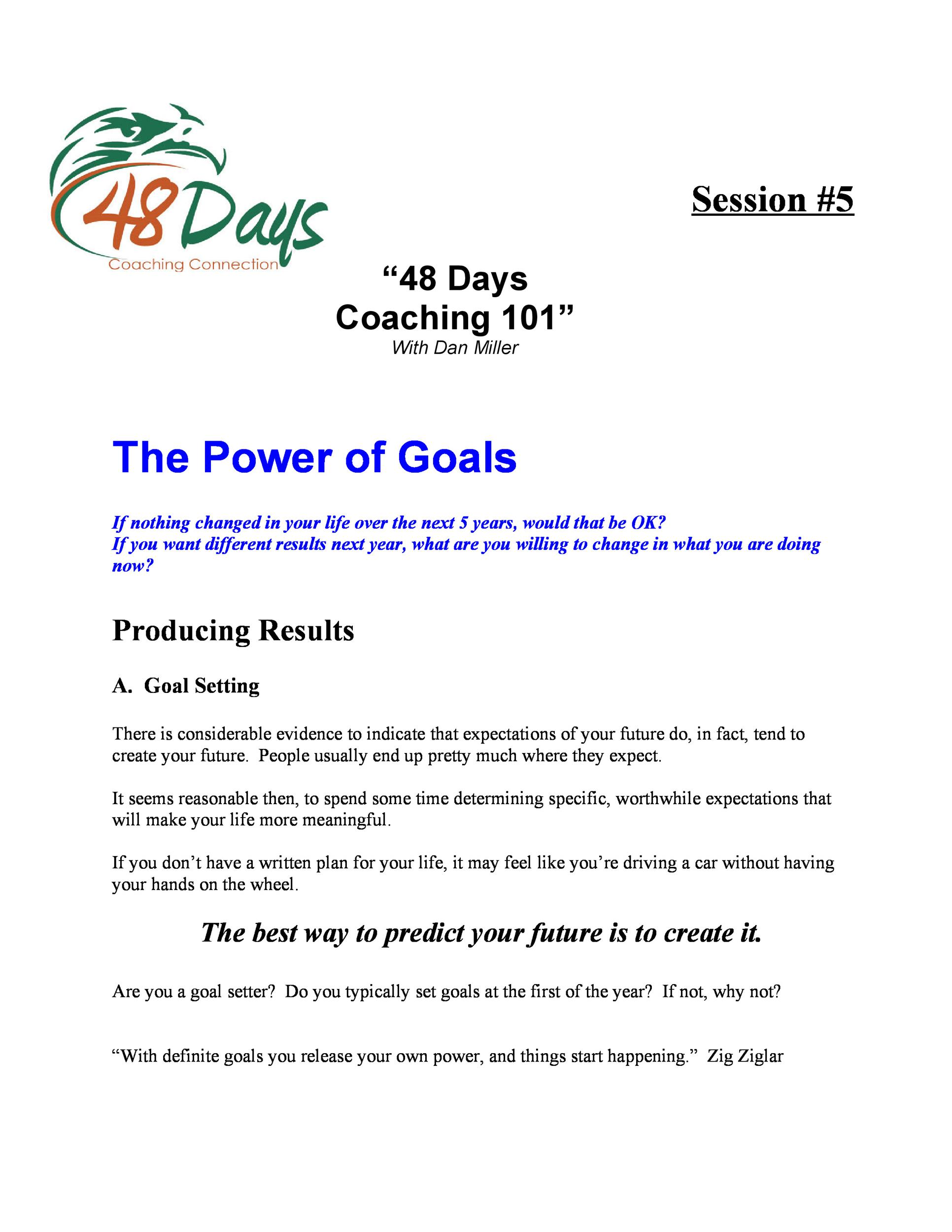 Smart Goal Worksheet Template Word