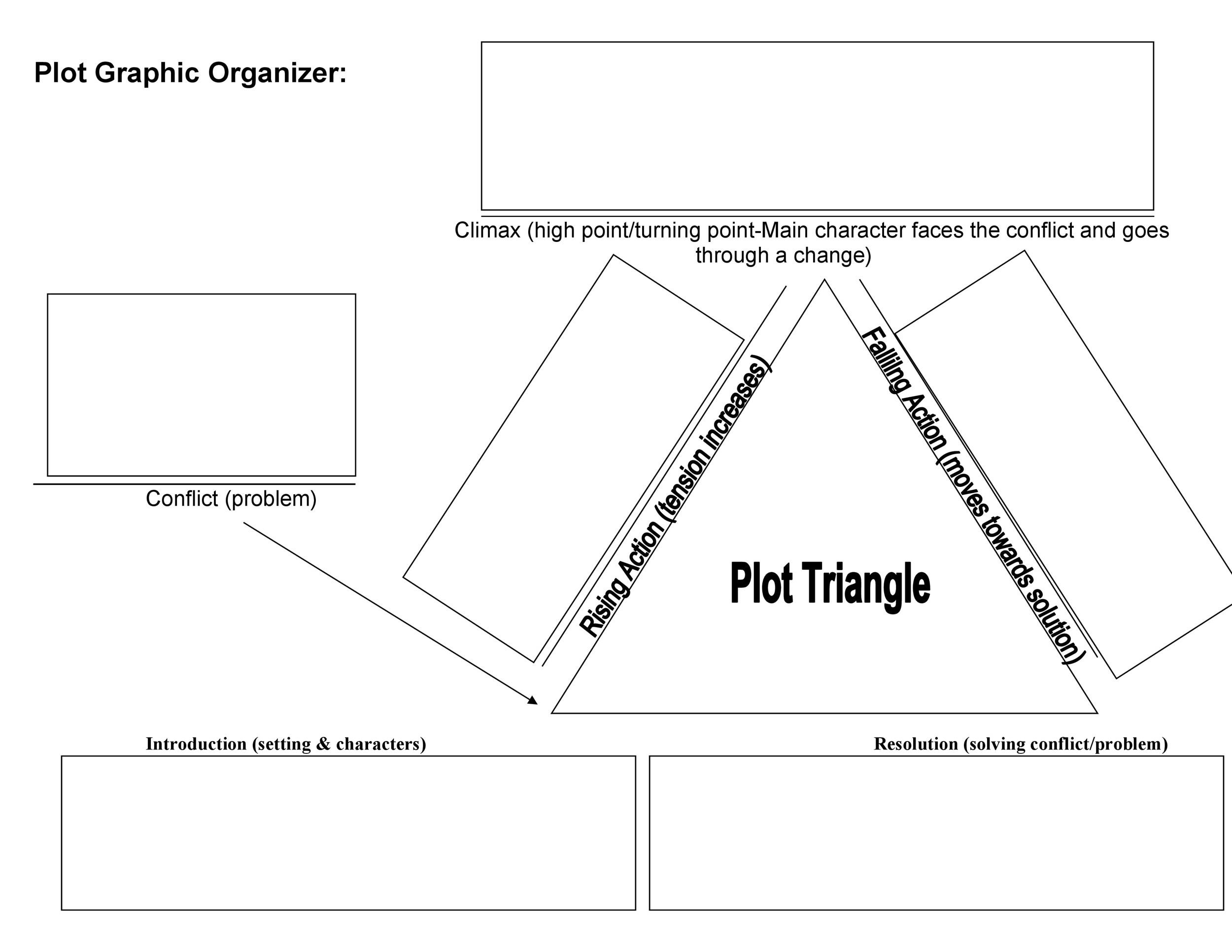 Plot Diagram Graphic Organizer