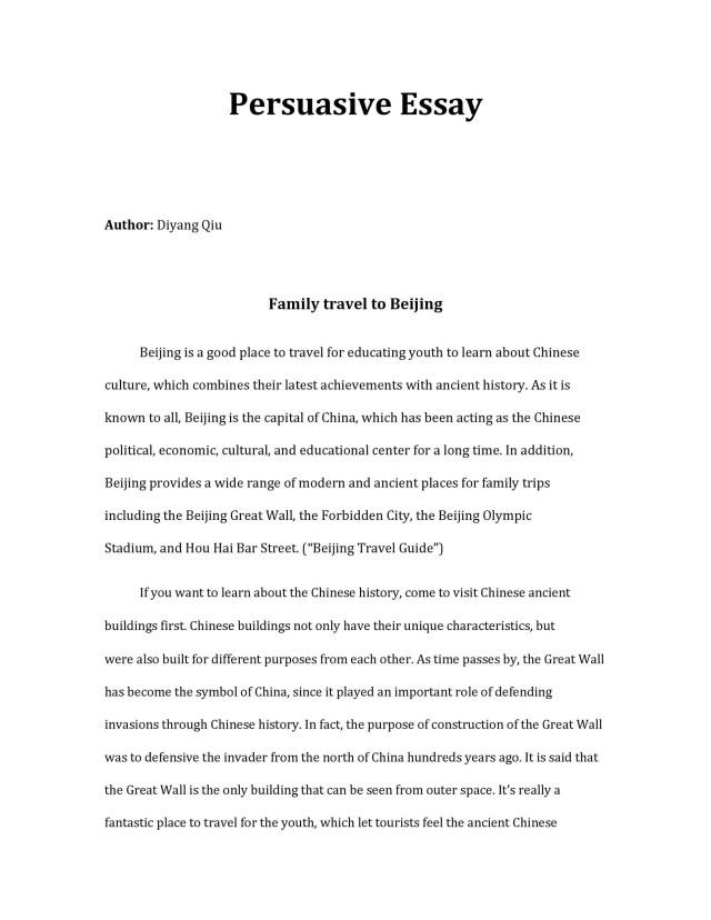 27 Free Persuasive Essay Examples (+BEST Topics) ᐅ TemplateLab
