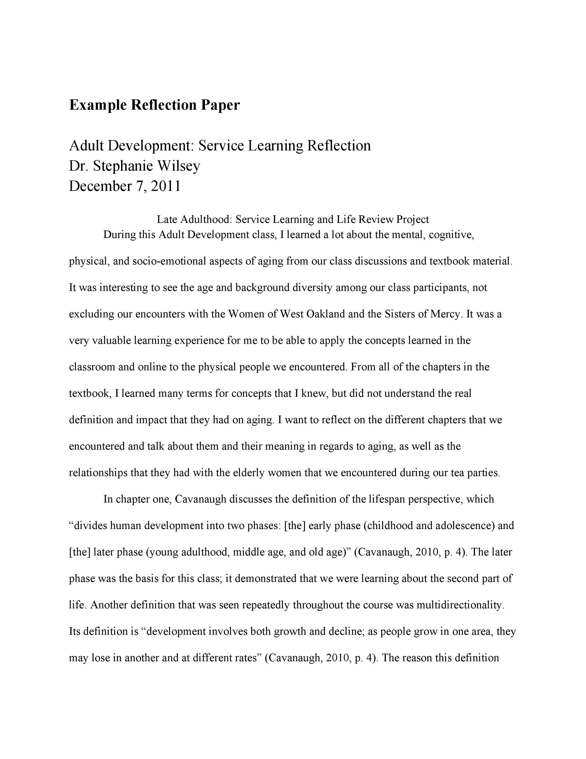 50 Best Reflective Essay Examples Topic Samples