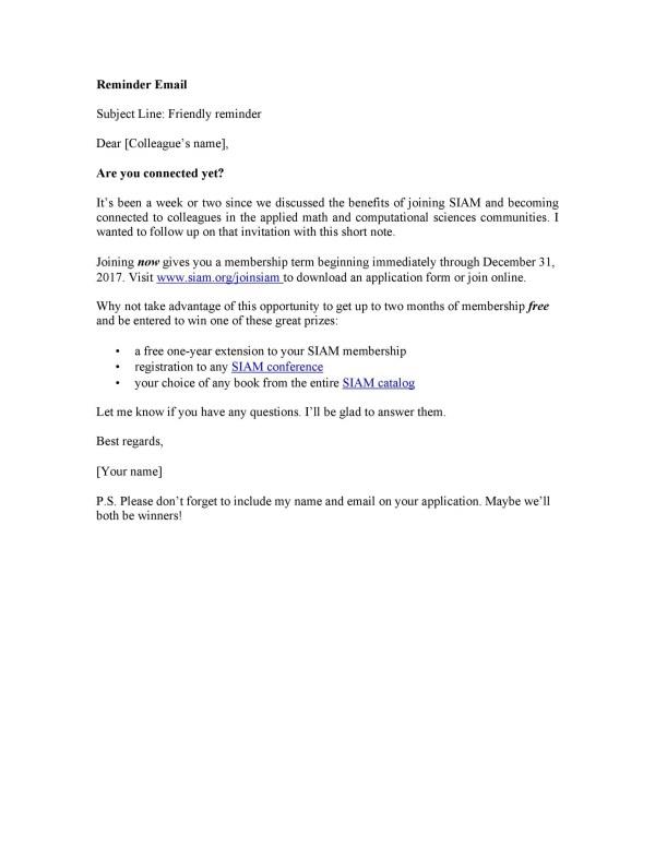 50 Polite Reminder Email Samples & Templates ᐅ TemplateLab