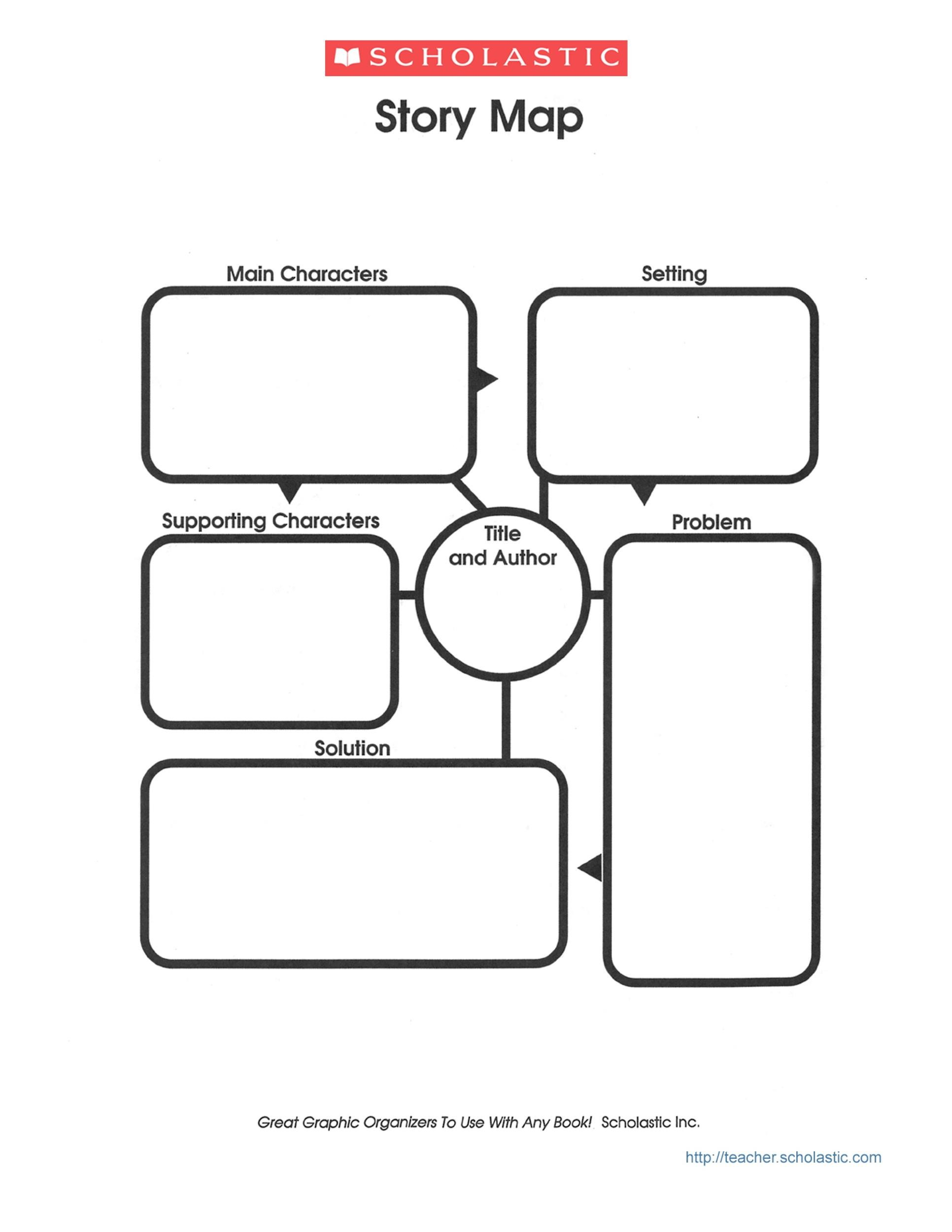41 Free Amp Printable Story Map Templates Word