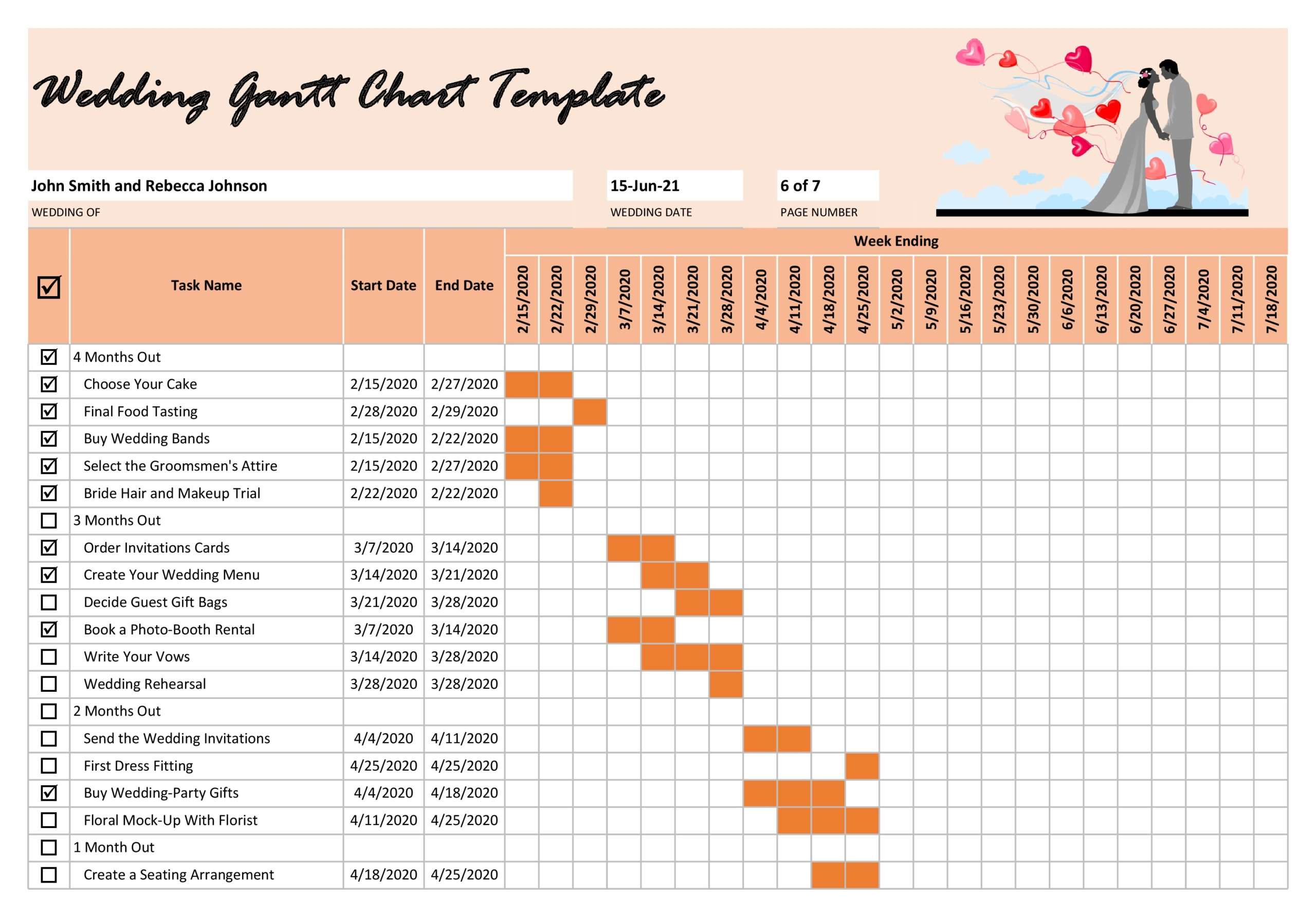 It allows you to quickly see the status of any project and see how far. 41 Free Gantt Chart Templates Excel Powerpoint Word Á… Templatelab