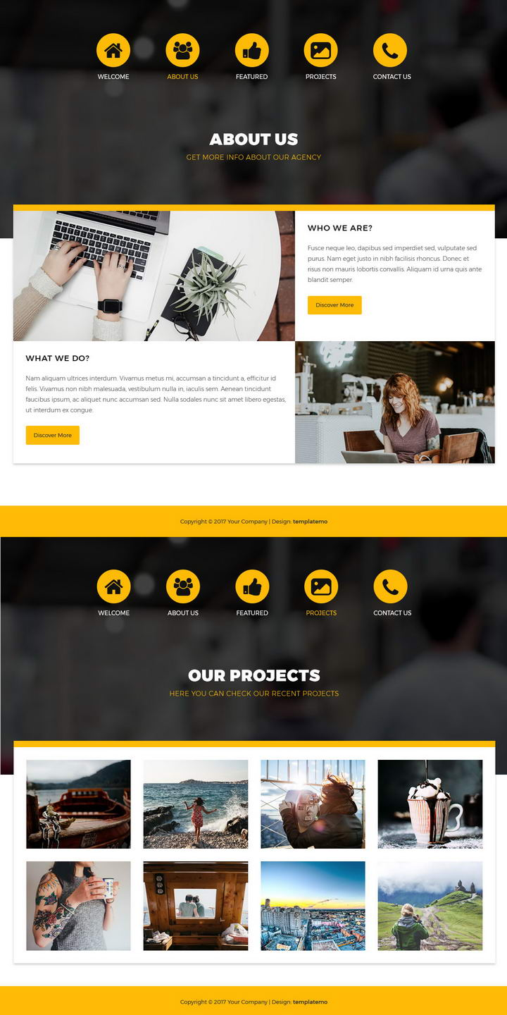 This theme will help you get. Free Template 503 Newline