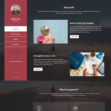 Select from our free portfolio templates the one that adds value to your creations. Free Portfolio Website Templates By Templatemo