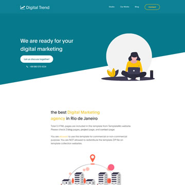 19/03/2021· stack is a free responsive online marketing website template. Free Digital Marketing Website Templates By Templatemo