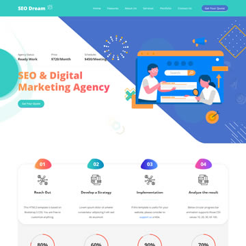 It is free with the utmost quality to be your web presence. Free Digital Marketing Website Templates By Templatemo