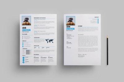 Clean Creative Resume Design