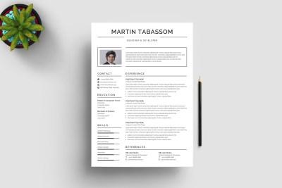 Classic Print Resume Template