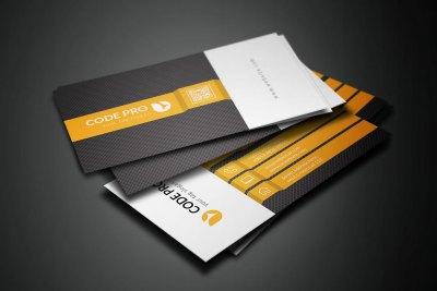 Stylish Name Card Template