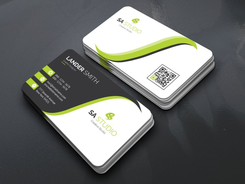 Excellent Name Card Templates