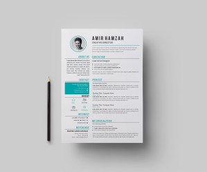 EPS Creative CV Template
