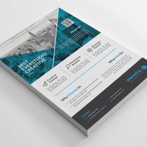 Versatile PSD Flyer Templates