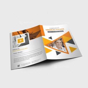 Vector Medical Presentation Folder