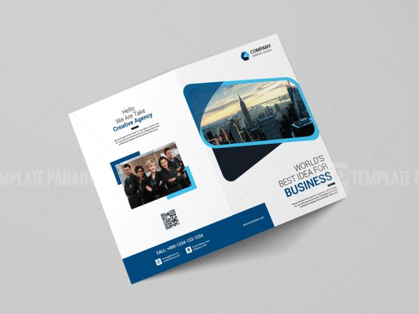 A4 Bi-Fold Brochure Design