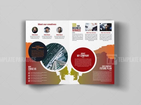 Art Bi-Fold Brochure Design