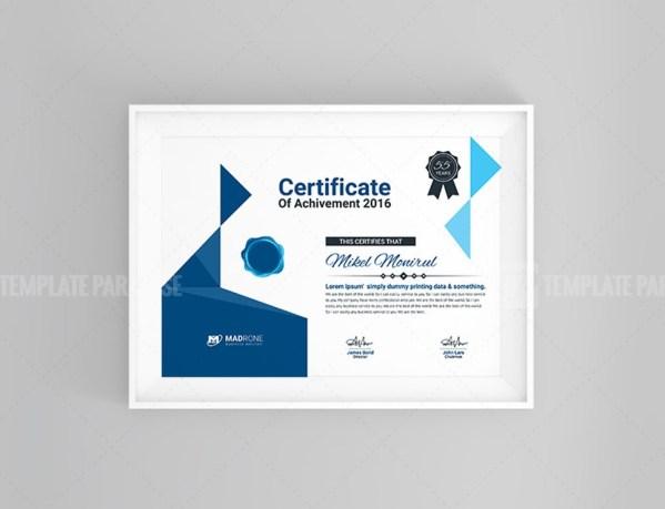 Art Certificate Design