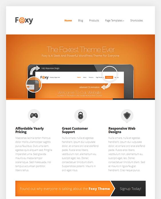 foxy ecommerce wordpress theme