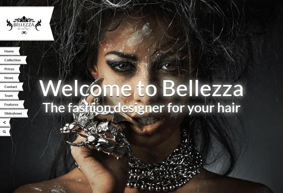 bellezza beauty salon wordpress theme