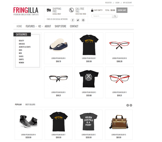 fringilla responsive virtuemart templates