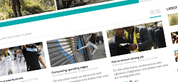 joomla news templates feature