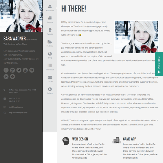 10  of the best free  u0026 premium cv  vcard   u0026 resume wordpress themes  u2013 down