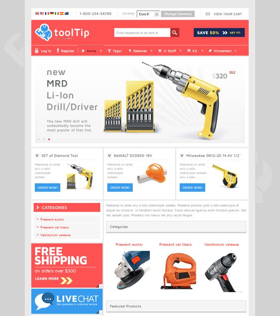 tooltip virtuemart template