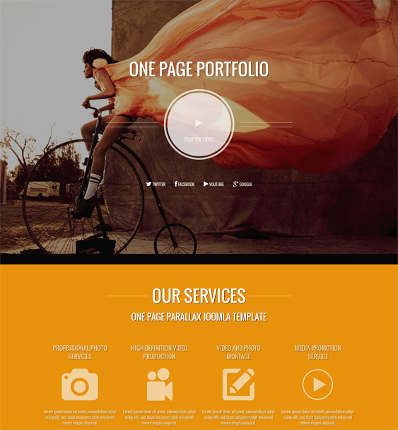 photographer portfolio drupal theme
