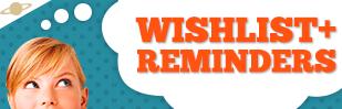 wishlist + reminders shopify app