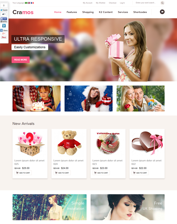 cramos joomshopping theme