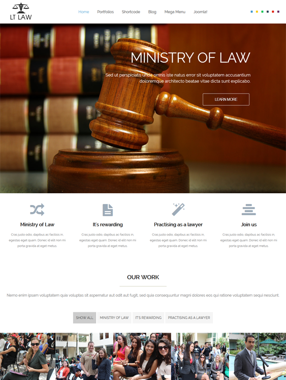 lt law lawyer joomla templates