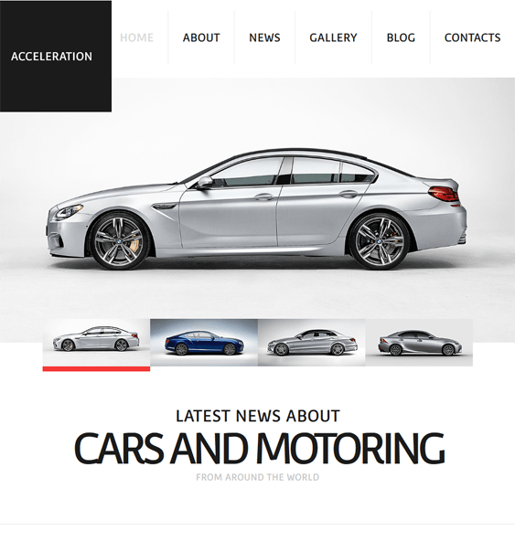 cars car vehicle automotive joomla templates