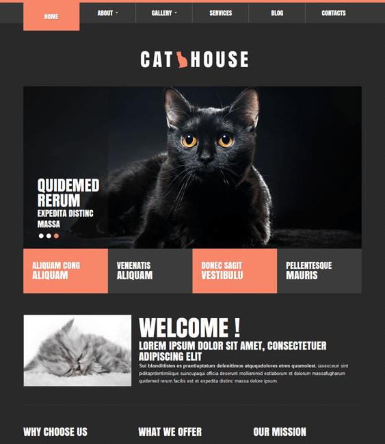 cat charity nonprofit joomla templates