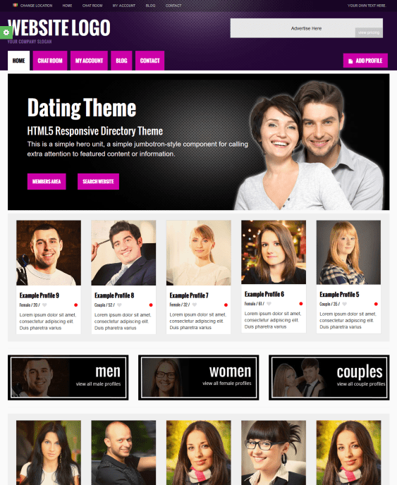dating website wordpress theme [if you don't see that video, here's a link to it] tools for creating a dating site with wordpress the most wonderful thing about this is that most everything we need is already available to us – and most of it is free.