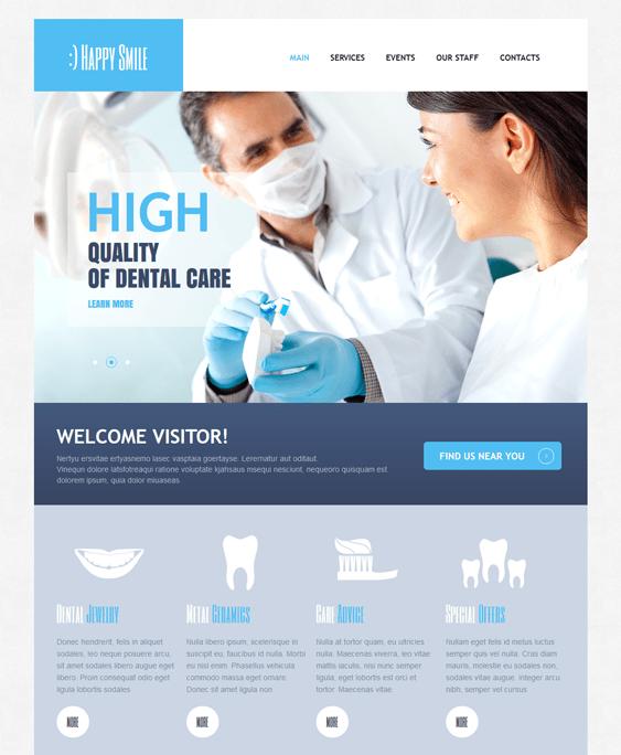dental medical drupal themes